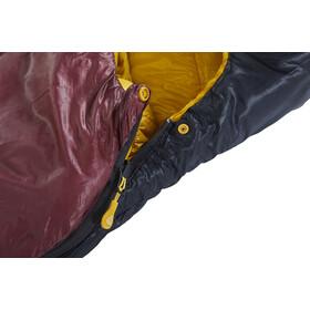 Nordisk Oscar -2° Curve Slaapzak M, rio red/mustard yellow/black